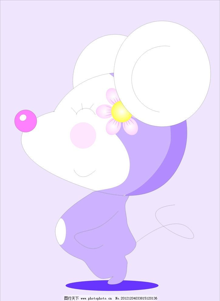 小老鼠 老鼠 卡通 可爱