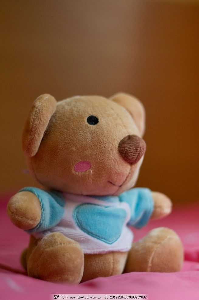 玩具熊 布偶 小熊 可爱 卡通 毛绒玩具 特写 生活素材 摄影