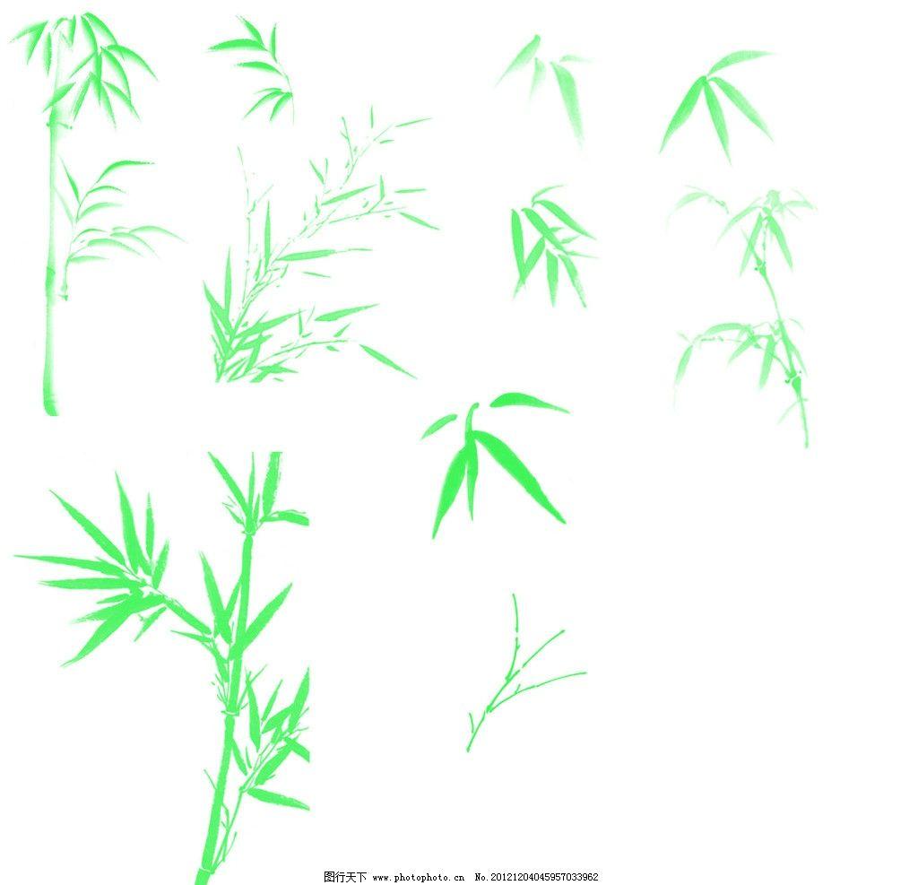 竹子笔刷_植物笔刷_ps笔刷