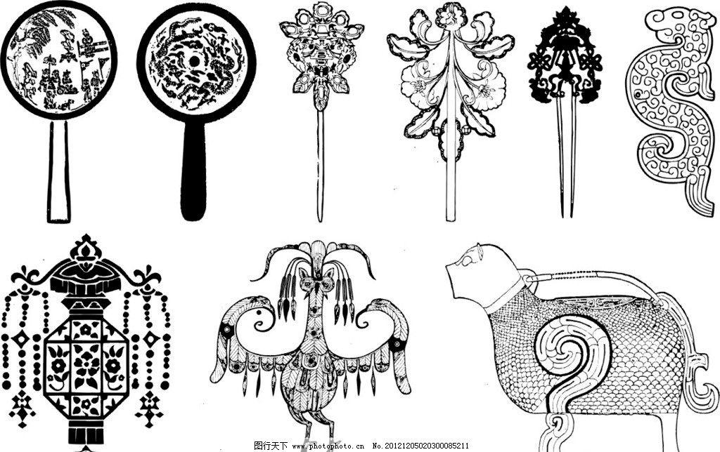 矢量花边 矢量边框 矢量花 古典花边 古典花纹 古典图案 欧式花边