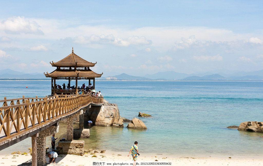 海南蜈支洲岛风景区 情人桥 海南 蜈支洲岛 风景区 国内旅游 旅游摄影