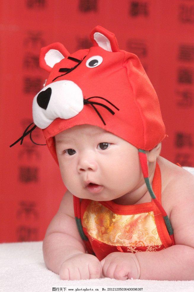 可爱小男孩 婴儿 写真 半岁 胖宝宝 儿童幼儿 人物图库 摄影 72dpi