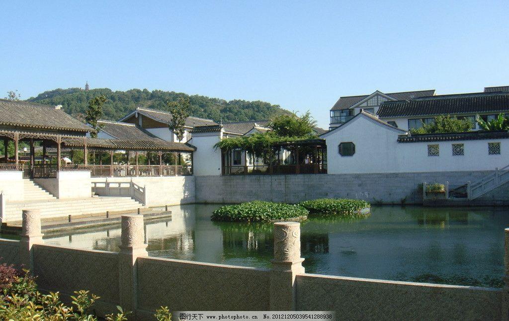 苏州园林 旅游 风景 古建 房屋建筑 蓝天 自然 旅游风景摄影