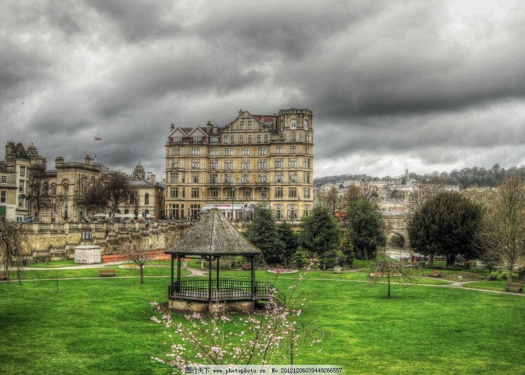 欧式建筑 欧洲 欧式 建筑 房屋 亭子 草坪 建筑摄影 建筑园林 摄影