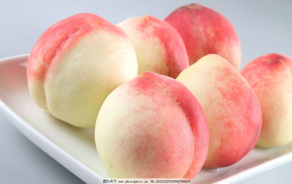 桃子 水蜜桃 水果 生物世界 摄影 72dpi jpg