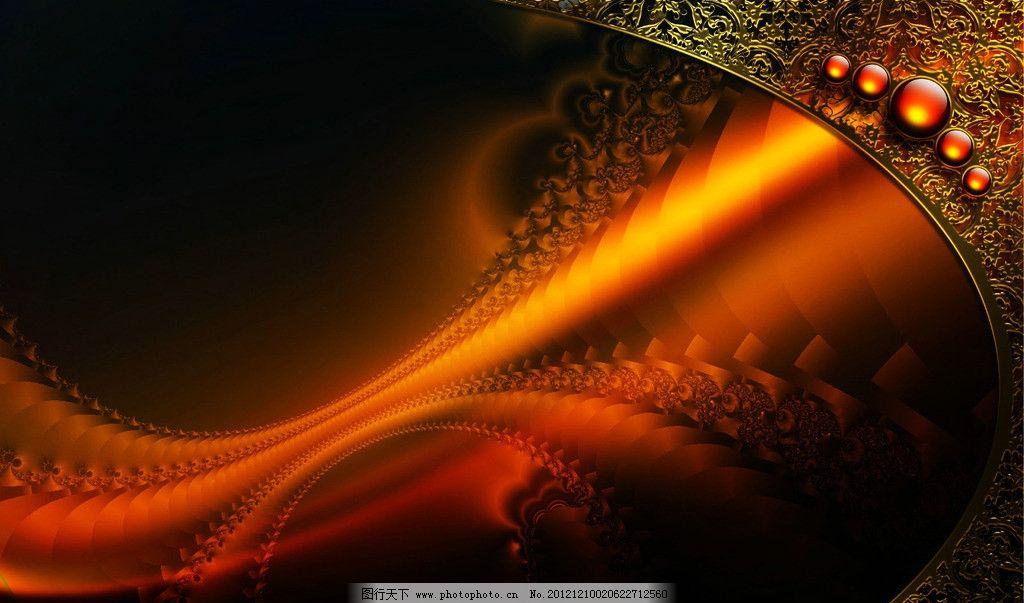 炫彩 绚丽 宝石 光影 特效 背景 壁纸 炫彩视觉 抽象底纹 底纹边框