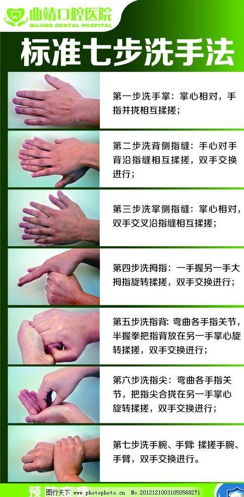 最新版国际标准七步洗手法