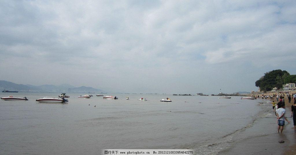 鼓浪屿景色 厦门旅游 岛内风光 浪漫之旅 清新自然 海水 蓝天白云