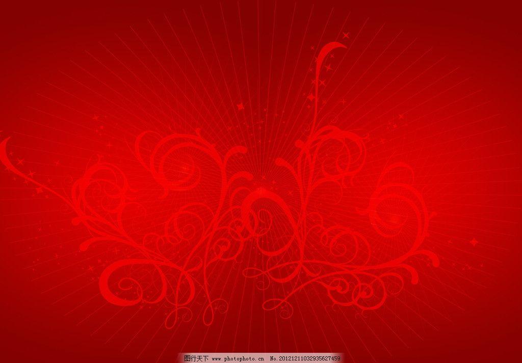 放射图片 喜庆图片 花纹 红色图片 红色背景 线条 温馨图片 喜庆底纹