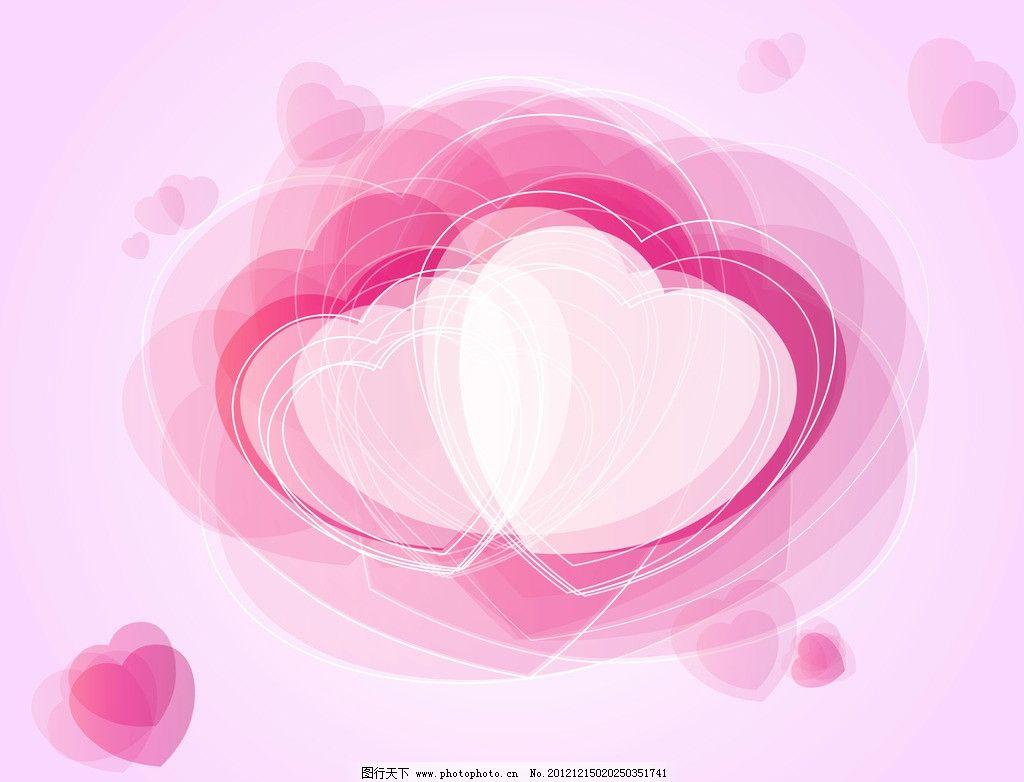 粉红背景图片 爱心图 爱心 边框 粉色 叠加 粉红背景 温馨背景 底纹