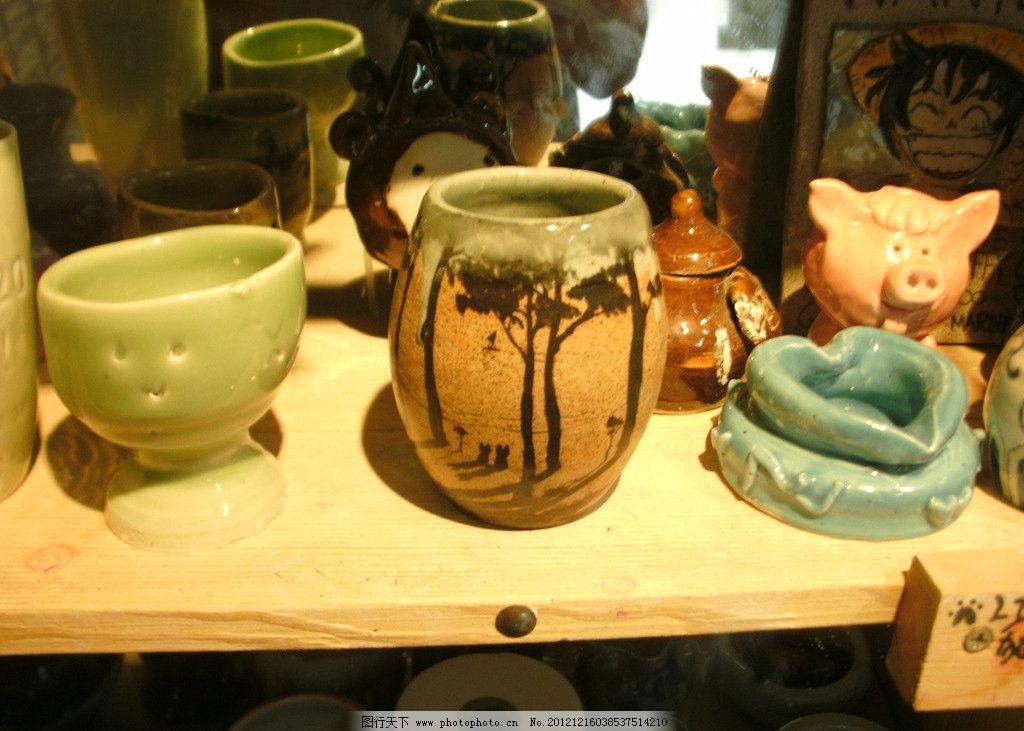 学生陶艺作品复古图片