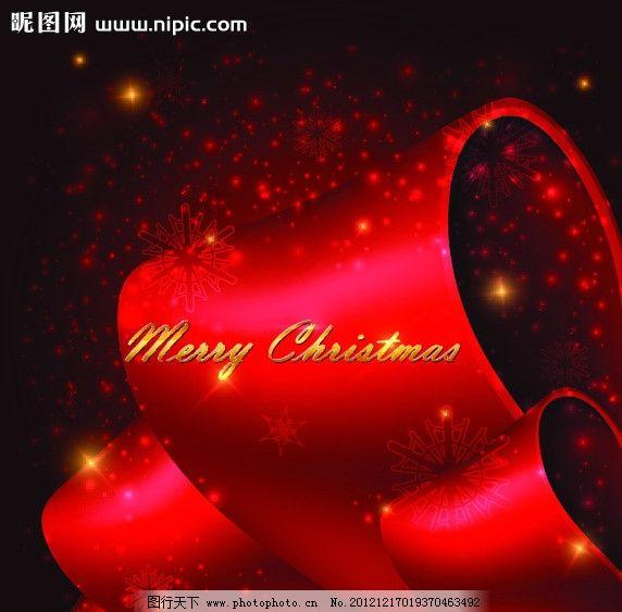 新年背景素材 梦幻光斑 2013新年背景素材 丝绸 红丝绸 圣诞背景 喜庆