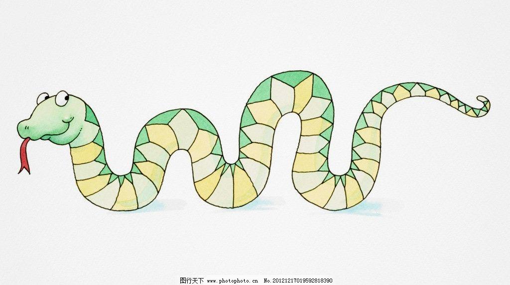 蛇彩泥手工制作大全