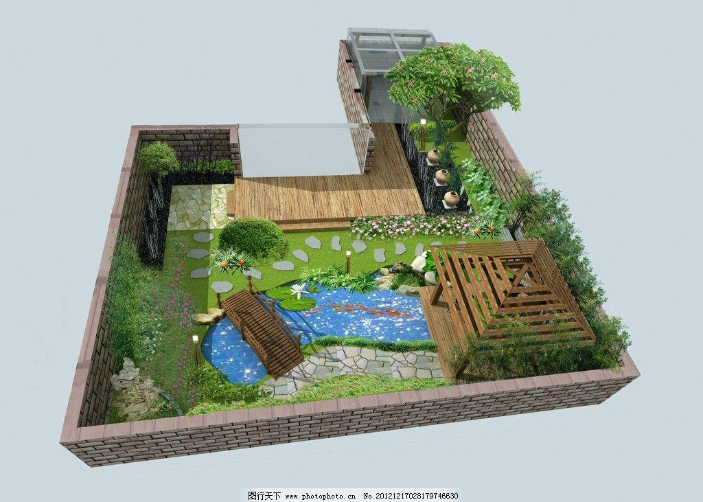 庭院设计 景观        庭院 方案 水景 景观设计 环境设计 设计 72dpi