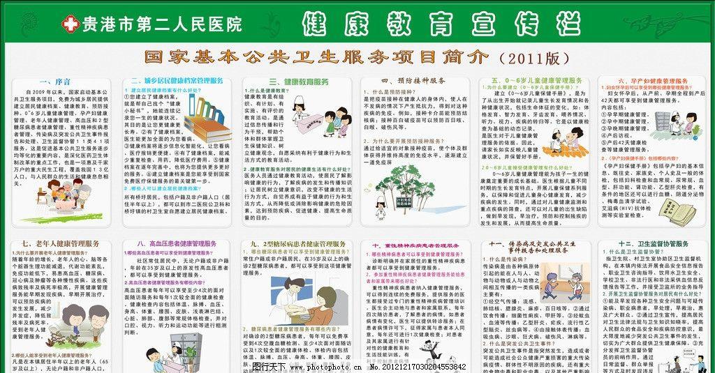 国家基本公共卫生服务项目简介图片