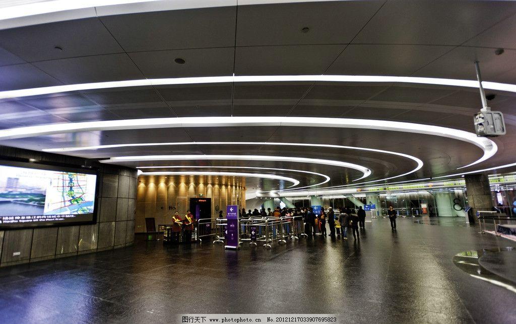 广州塔售票大厅图片_国内旅游