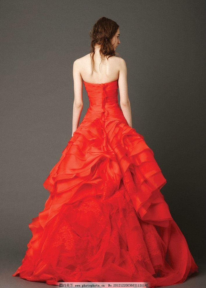 婚纱照 女人 漂亮女人 高清晰 照片 背面 美丽 婚纱摄影 女性女人