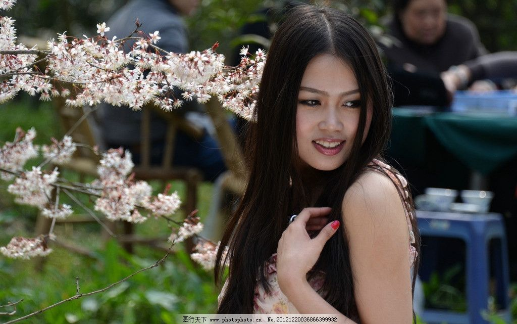 可爱美女 气质美女 清纯美女 植物园 美女外拍 小清新 女性女人