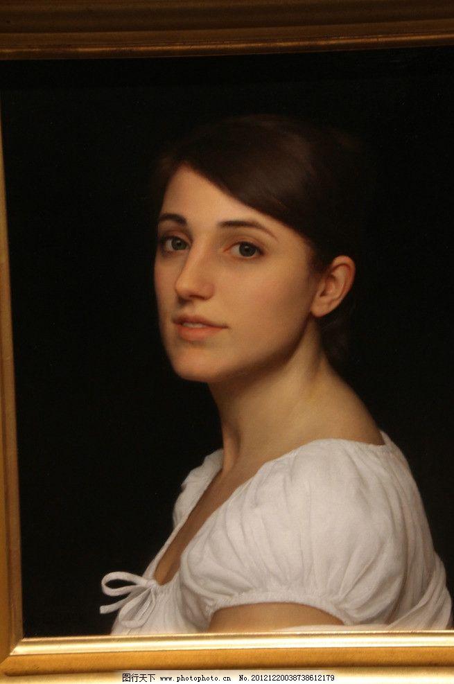 超写实油画 美女 美国现代油画 人物肖像 美术绘画 摄影