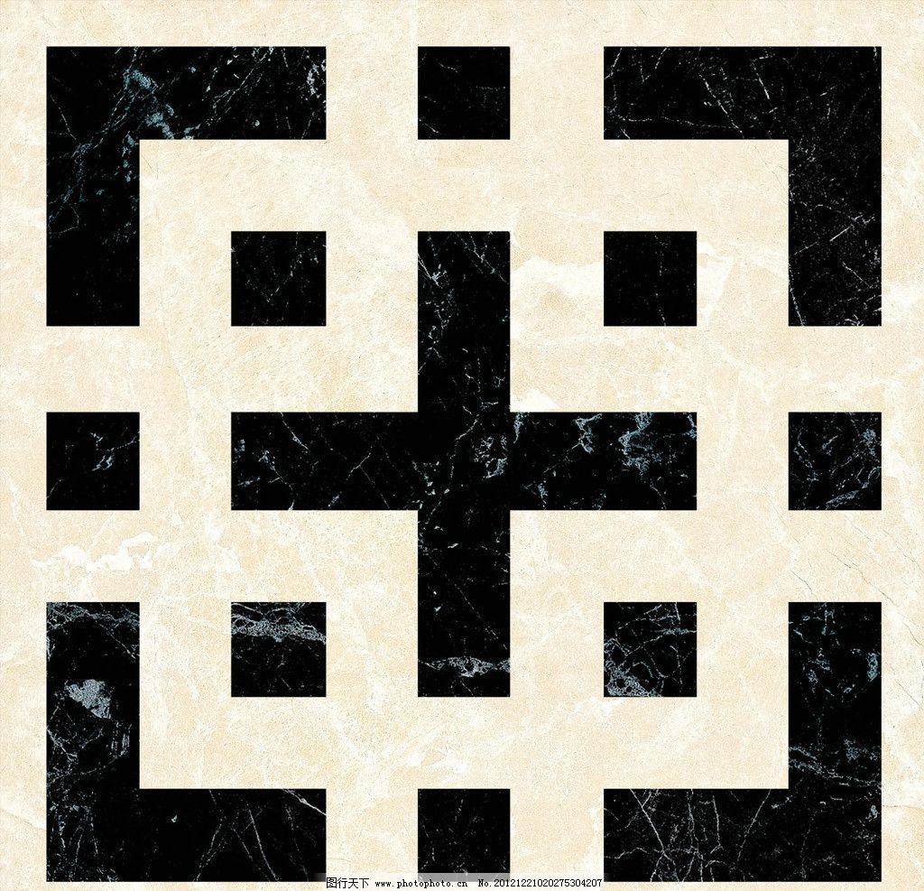 3d拼花地砖贴图 欧式 瓷砖 花纹