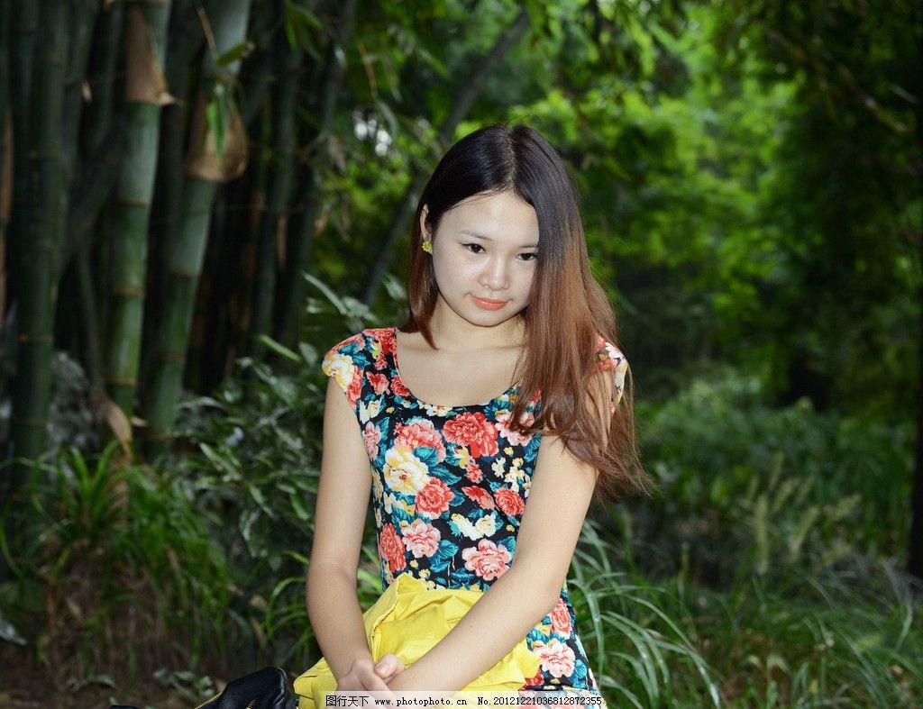 高清美女 公园美女 可爱美女 清纯美女 气质美女 公园外拍 女性女人