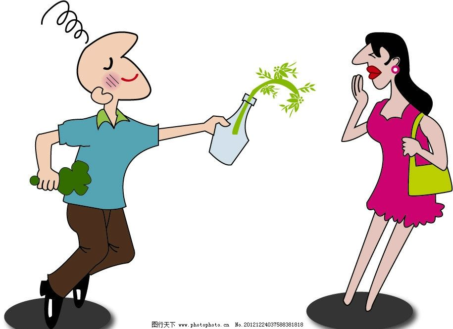 漫画卡通人物 漫画男女 卡通人物 卡通图片素材 卡通设计 广告设计 矢
