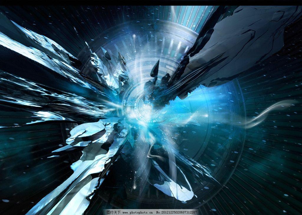 科幻星空 科技 星空 未来 战场 梦幻 壁纸 抽象底纹 底纹边框 设计 72