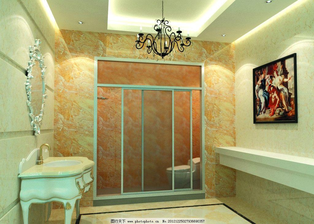 陶瓷效果图 室内效果图 欧式 地砖 磁砖 陶瓷 室内设计 环境设计 设计