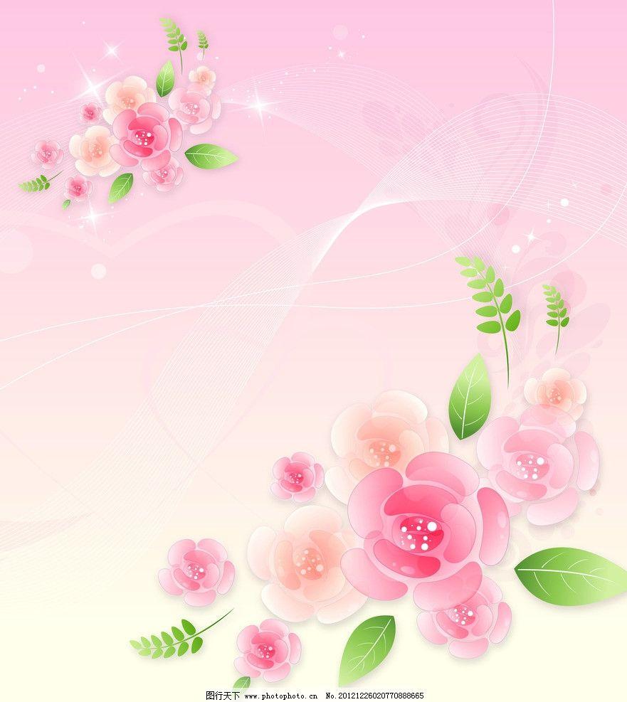 梦幻花朵图片