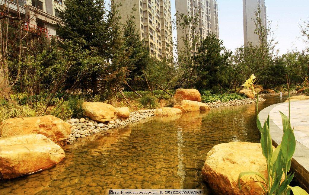 法式欧式皇家园林景观水景图片