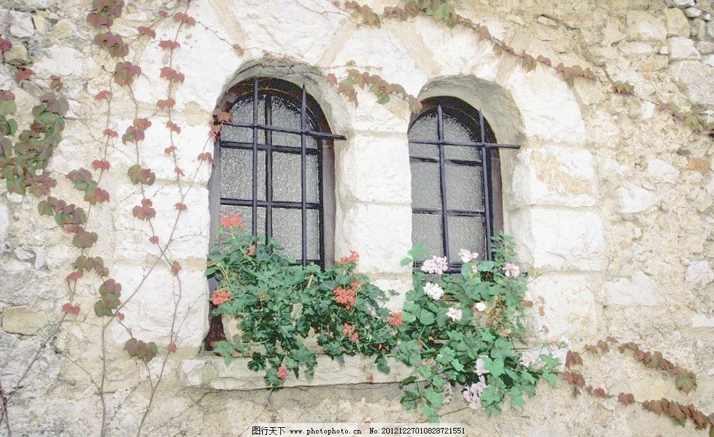 欧式拱形窗图片图片