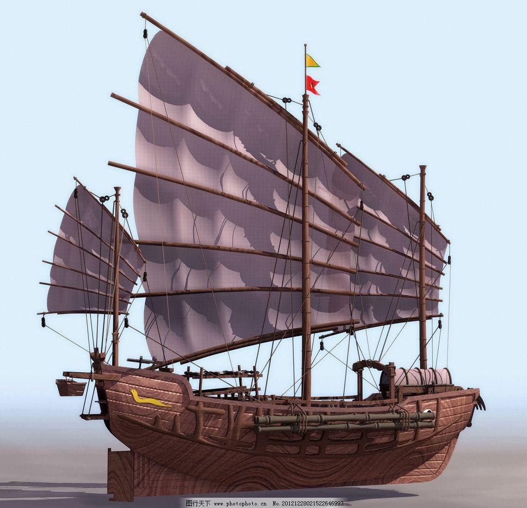 木船 船只 船模型 其他模型