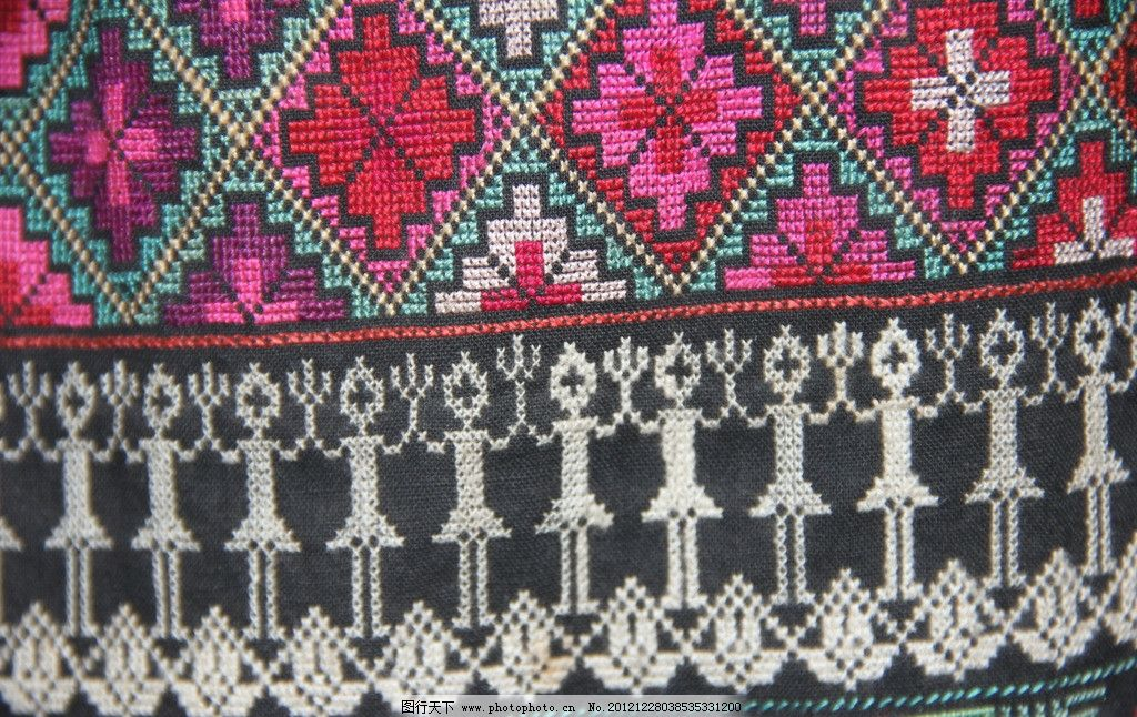 彝族服饰图案图片,彝族图案 刺绣 彝族刺绣 刺绣图案