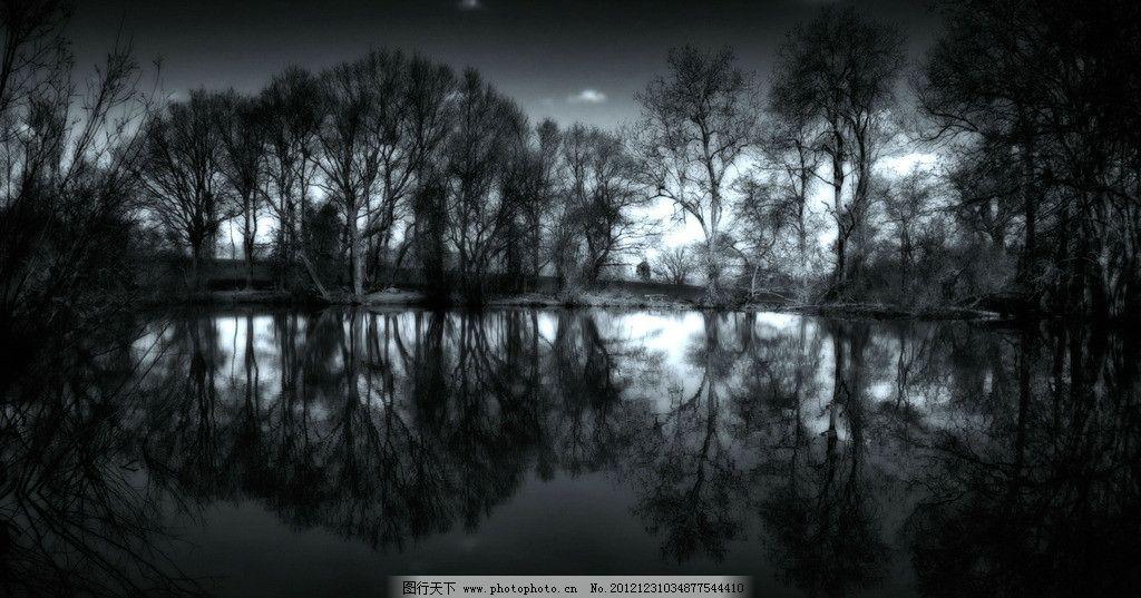水木意境图片_自然风景_自然景观_图行天下图库